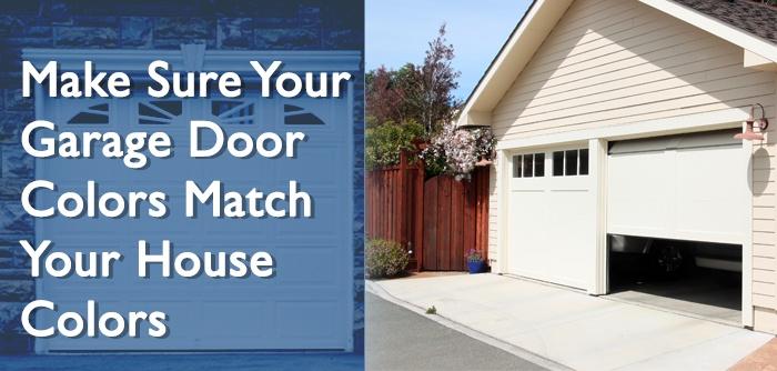 5 Tips To Make Sure Your Garage Door Colors Match Your ... on Choosing Garage Door Paint Colors  id=88630